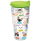 Tervis® Flat Art Cat Breed 24 oz. Wrap Tumbler