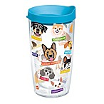 Tervis® Flat Art Dog  Breed 16 oz.  Wrap Tumbler