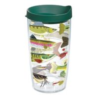 Tervis® Freshwater Fish and Lure 16 oz. Wrap Tumbler with Lid