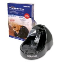 Filtered Water Purifying Pet Fountain in Black