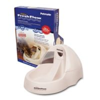 Filtered Water Purifying Pet Fountain in Linen