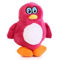 Hear Doggy Small Penguin Dog Toy in Pink