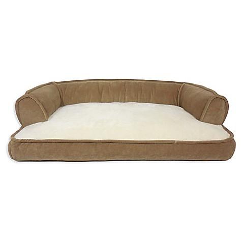 Canine Creations Memory Foam Recliner Sofa Pet Bed In