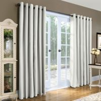 Thermalogic Weathermate 84 Inch Double Wide Grommet Top Window Curtain Panel Pair In