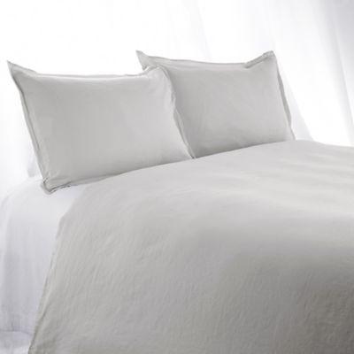 buy light grey duvet cover from bed bath beyond. Black Bedroom Furniture Sets. Home Design Ideas
