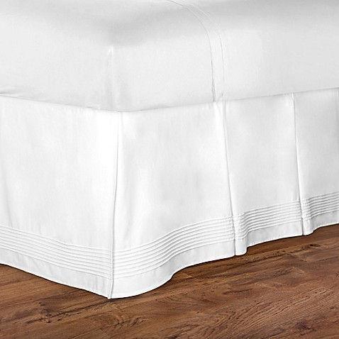 Charisma Isabella Bed Skirt In White Bed Bath Amp Beyond