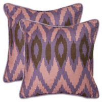 Safavieh Easton 18-Inch x 18-Inch Throw Pillows in Lavender (Set of 2)
