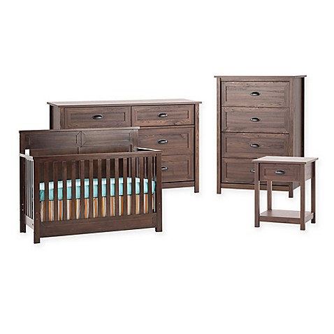 Child Craft® Abbott™ Nursery Furniture Collection In Walnut   Buybuy BABY