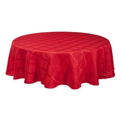 Origins Holiday Tablecloth In Red