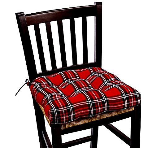 Marydel Holiday Chair Pad In Red Bed Bath Amp Beyond