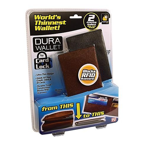 Dura Wallet Set Of 2 Bed Bath Amp Beyond