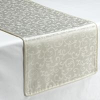 Lenox® Opal Innocence™ 70-Inch Decorative Table Runner in White