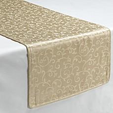 Lenox 174 Opal Innocence Ivory Decorative Table Runner Bed