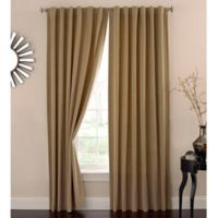 Absolute Zero 108-Inch Velvet Blackout Home Theater Curtain Panel in Café