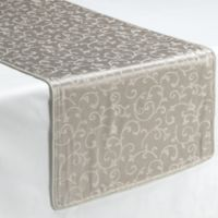 Lenox® Opal Innocence™ Platinum 70-Inch Decorative Table Runner