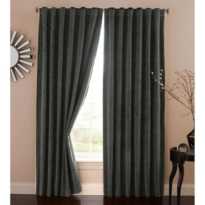 Curtains Ideas black velour curtains : Buy Velvet Curtains from Bed Bath & Beyond