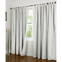 Thermalogic® Weathermate 84-Inch Double-Wide Tab Top Window Curtain Panel Pair in White