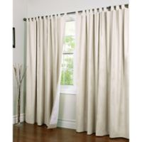 Thermalogic® Weathermate 84-Inch Double-Wide Tab Top Window Curtain Panel Pair in Natural