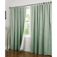Thermalogic® Weathermate 84-Inch Double-Wide Tab Top Window Curtain Panel Pair in Sage