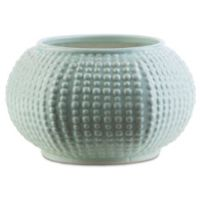 Surya Dyne Ceramic Table Vase in Grey