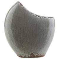 Style Statements by Surya Michaelis Large Ceramic Table Vase in Olive