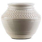 Style Statements by Surya Bromus 9-Inch Ceramic Table Vase in Beige