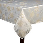 Shimmer Snow 52-Inch x 70-Inch Oblong Tablecloth