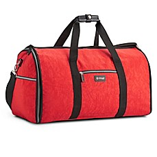 Biaggi hangeroo garment bag and satchel bed bath beyond for Wedding dress garment bag for air travel