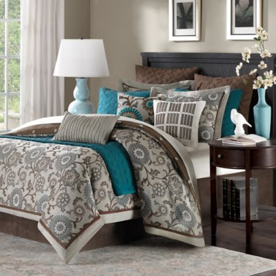 Buy Teal King Comforter from Bed Bath & Beyond