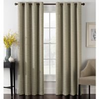 Foray 108-Inch Blackout Grommet Window Curtain Panel in Stone