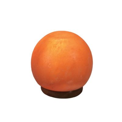 Sea Salt Lamp Bed Bath And Beyond : Himalayan Ionic Salt Crystal Sphere Table Lamp in Coral - Bed Bath & Beyond