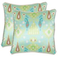 Buy Bluegreen Throw Pillows Bed Bath Beyond