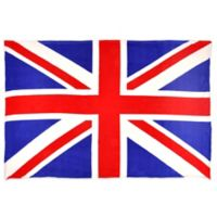 Union Jack Flag MicroFleece Throw Blanket