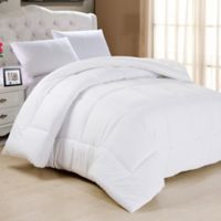 Down Alternative Full Comforter in White