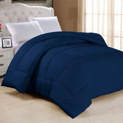 Down Alternative Twin Comforter In Navy
