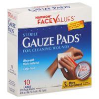 Harmon® Face Values™ 10-Count 4x4 Sterile Pads