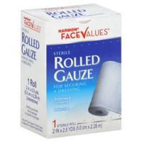 Harmon® Face Values™ 2-Inch Rolled Gauze