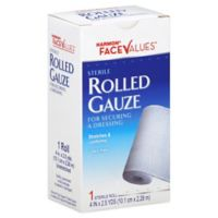 Harmon® Face Values™ 4-Inch Rolled Gauze
