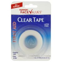 Harmon® Face Values™ 10 Yards Clear Tape