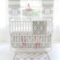 My Baby Sam Olivia Rose 3-Piece Crib Bedding Set