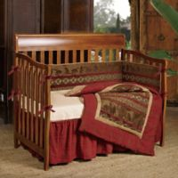 HiEnd Accents Cascade Lodge 3-Piece Crib Bedding Set