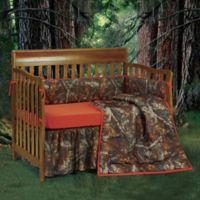 HiEnd Accents Oak Camo 3-Piece Crib Bumper Set
