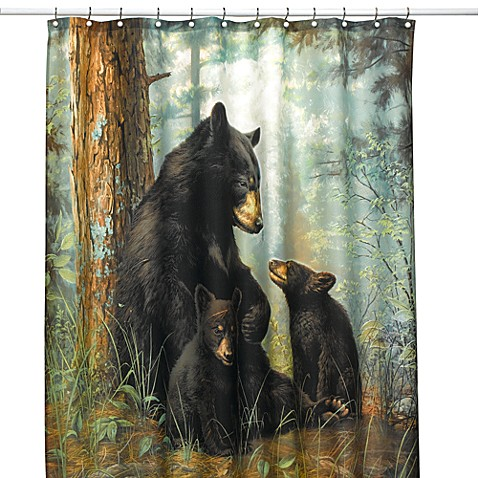 Bear Necessities Shower Curtain Bed Bath Beyond