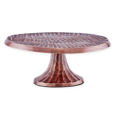 Old Dutch International Tribal Cake Stand in Antique Copper-Plate  sc 1 st  Bed Bath u0026 Beyond & Buy Plate Stands from Bed Bath u0026 Beyond