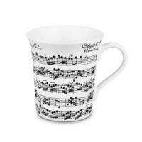 Konitz Vivaldi Libretto Mugs in White (Set of 4)