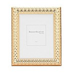 Reed & Barton Watchband 5-Inch x 7-Inch Picture Frame in Satin Gold