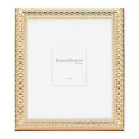 Reed & Barton Watchband 8-Inch x 10-Inch Picture Frame in Satin Gold