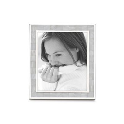 reed barton mother of pearl 4 inch x 6 inch picture frame