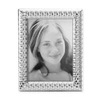 Reed & Barton Watchband 5-Inch x 7-Inch Picture Frame in Silver