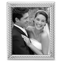 Reed & Barton Watchband 8-Inch x 10-Inch Picture Frame in Silver